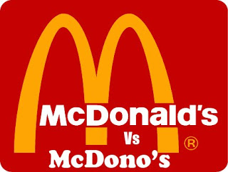 mcdonald vs mcdono