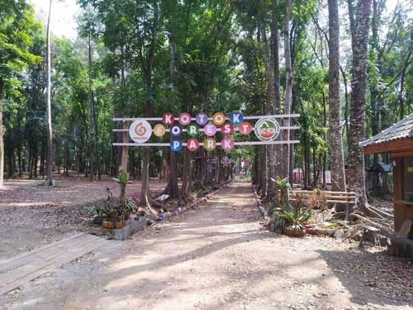 Pintu Masuk Kotok Forest Park