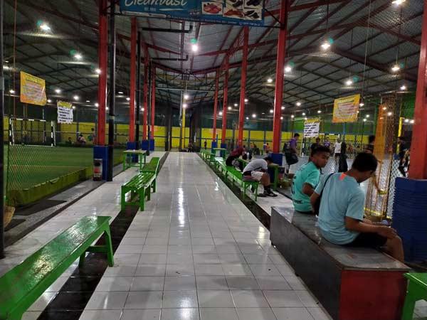 Suasana Didalam Zona Futsal