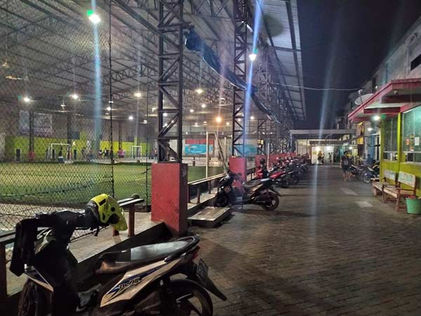 Parkiran Elphasindo Futsal