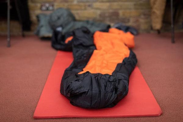 sleeping bag camping