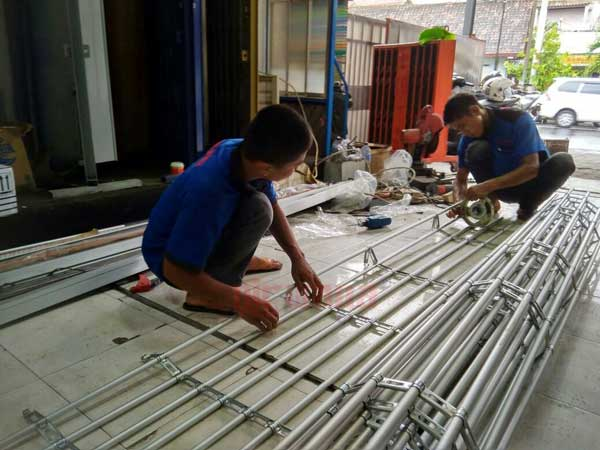 Bahan Pembuatan Rolling Door