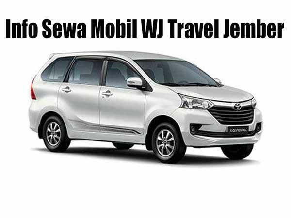 info sewa mobil jember wj travel